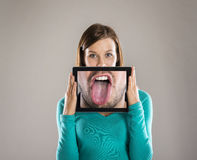 Funny portraits Stock Photos