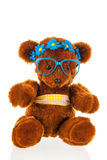 Funny stuffed bear Stock Images