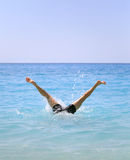 Funny summer holiday concept Royalty Free Stock Image