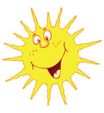 Funny sun Royalty Free Stock Photos