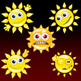 Funny Sun #2 Royalty Free Stock Photos