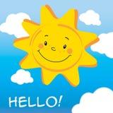 Funny Sun Stock Image