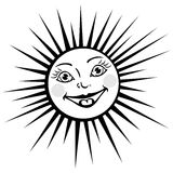 Funny sun Royalty Free Stock Images