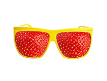Funny sunglasses Stock Images