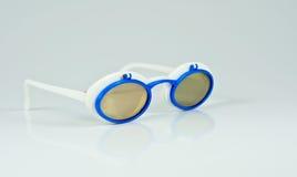 Funny sunglasses. On white background Royalty Free Stock Image