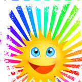 Funny sunshine Stock Image