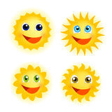 Funny sunshine Royalty Free Stock Photo