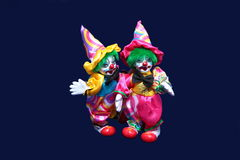 Two toy clown. Stock Photography