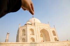 Funny Taj Mahal, India Stock Image