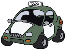 Funny taxi Stock Images