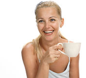 Funny tea Royalty Free Stock Image