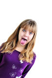 Funny teen girl Stock Photography