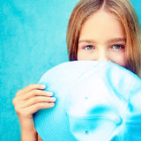 Funny teenager  girl Stock Photography