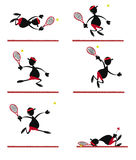 Funny Tennis Player Stock Images