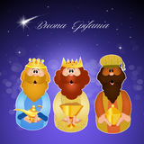 Funny three wise men Stock Photography