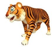 Funny Tiger cartoon character Stock Photos