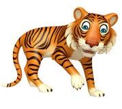 Funny Tiger cartoon character Royalty Free Stock Photography