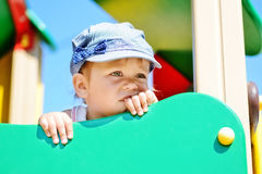 Funny toddler Royalty Free Stock Photography