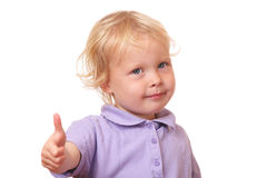 Funny toddler Stock Photo