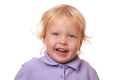 Funny toddler Royalty Free Stock Images