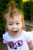 Funny toddler Stock Photography