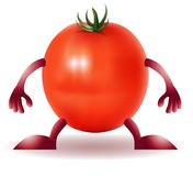 Funny Tomato Royalty Free Stock Photos
