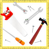 Funny tools Stock Image