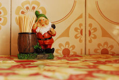 Funny toothpicks holder Royalty Free Stock Images