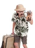 Funny tourist Stock Photos