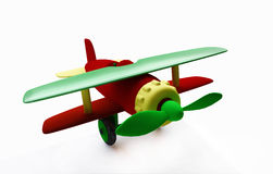 Funny Toy Airplane Royalty Free Stock Photos