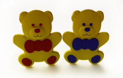 Funny Toy Bears Stock Photo