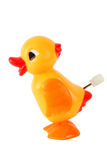 Funny toy clockwork duck Royalty Free Stock Photography