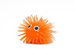 Funny toy hedgehog Stock Images