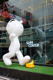 Funny toy image  in front of Siam Center shopping mall in Bangk Stock Images