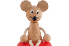 Funny toy mouse Stock Image