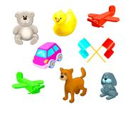 Funny toys Stock Image