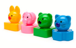 Funny toys Stock Images