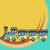 Funny train Stock Image