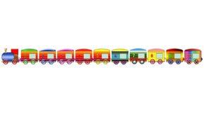 Funny train toy Stock Photos