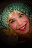 Funny transvestite Royalty Free Stock Image