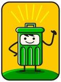 Funny trash royalty free illustration