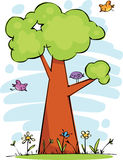 Funny tree Royalty Free Stock Image