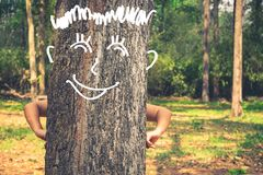 Funny Tree Royalty Free Stock Images