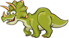 Funny triceratops Royalty Free Stock Images