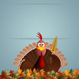 Funny turkey for Thanksgiving Royalty Free Stock Photos