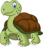 Funny turtle cartoon Stock Photo