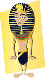 Funny Tutankhamen Stock Photos