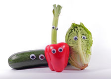 Funny vegetables Royalty Free Stock Photography