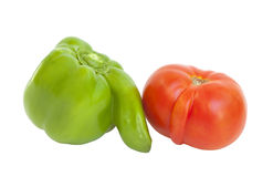 Funny Vegetables Stock Image
