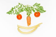 funny vegetables Royalty Free Stock Photos